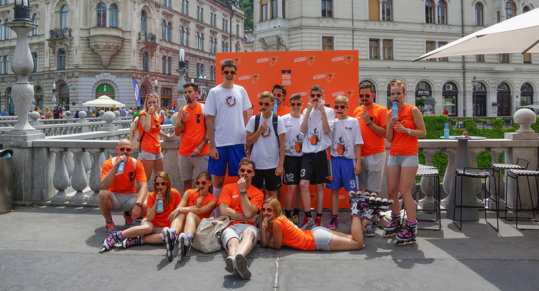 Orange Weekend marked by Cedevita and positive Energy